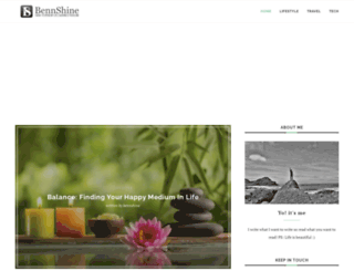 bennshine.com screenshot