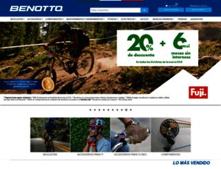 benotto.com.mx screenshot