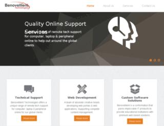 benovellienttechnologies.com screenshot