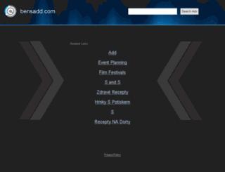 bensadd.com screenshot