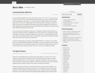 bensbits.com screenshot