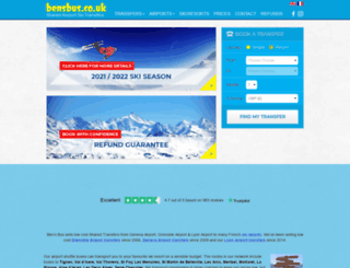 bensbus.co.uk screenshot