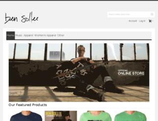 bensollee.portmerch.com screenshot
