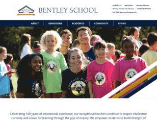 bentleyschool.net screenshot