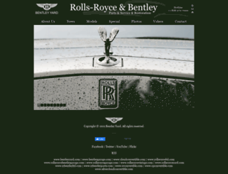bentleyyard.com screenshot