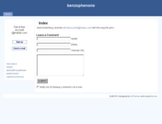 benzophenone.4ofu88.0v.ro screenshot