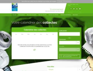 bep-environnement.be screenshot