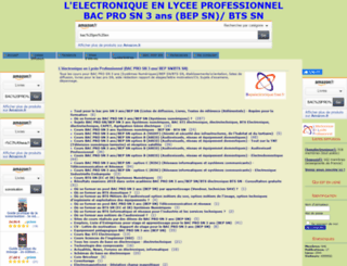 bepelectronique.free.fr screenshot