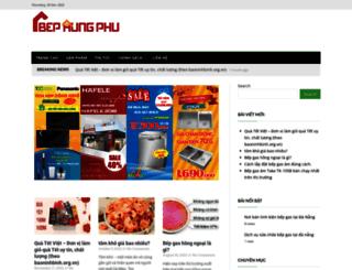 bephungphu.vn screenshot