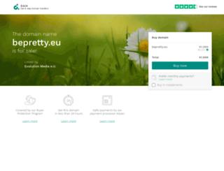 bepretty.eu screenshot