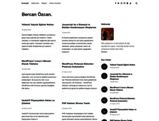 bercanozcan.com screenshot