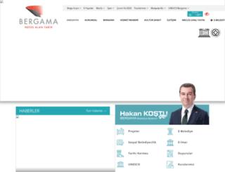 bergama.bel.tr screenshot