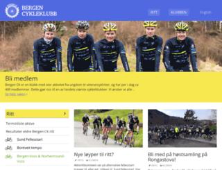 bergenck.no screenshot