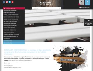 bergerault-webstore.com screenshot