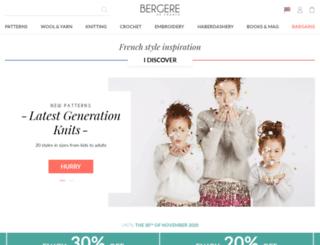 bergeredefrance.com screenshot