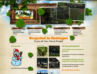 bergerhof.de screenshot