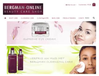 bergman-online.nl screenshot