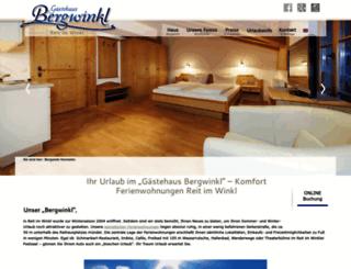 bergwinkl.com screenshot