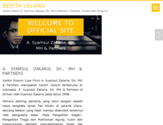 beritalelang.com screenshot
