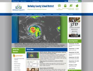 berkeley.k12.sc.us screenshot