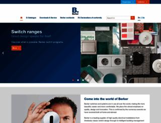 berker.com screenshot