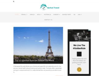 berkut-travel.com screenshot