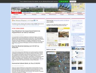 berlin-en-ligne.com screenshot