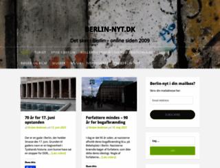 berlin-nyt.dk screenshot