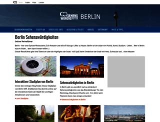 berlin.sehenswuerdigkeiten-online.de screenshot