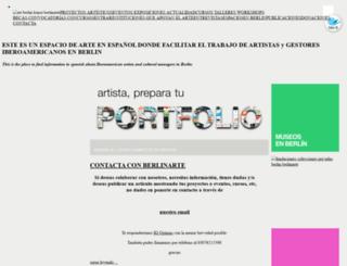 berlinarte.org screenshot