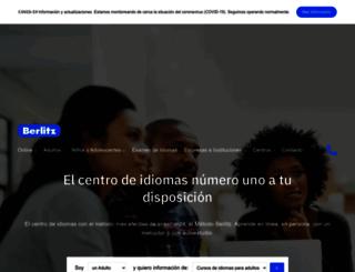 berlitz.com.ve screenshot
