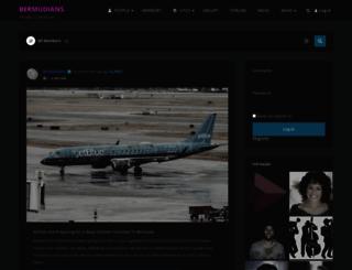 bermudians.com screenshot