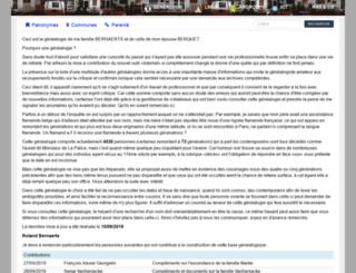 bernaerts.dyndns.org screenshot