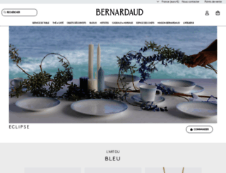 bernardaud.com screenshot