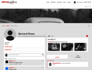 bernardplossu.virtualgallery.com screenshot
