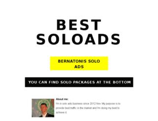 bernatonis.com screenshot