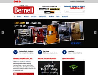 bernellhydraulics.com screenshot