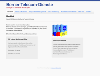 berner-telecom.de screenshot