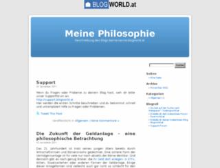 bernersenne.blogworld.at screenshot