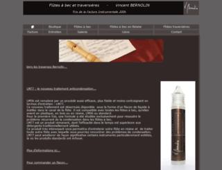 bernolin.fr screenshot