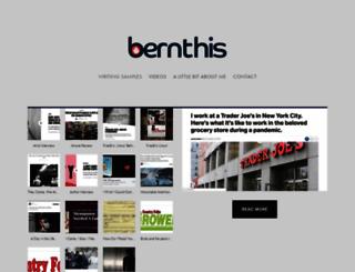 bernthis.com screenshot