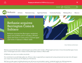 berrington.com.au screenshot