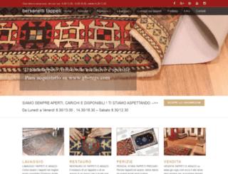 bersanettitappeti.com screenshot