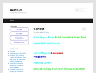 bertaut.com screenshot