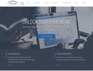 bertramcapital.com screenshot