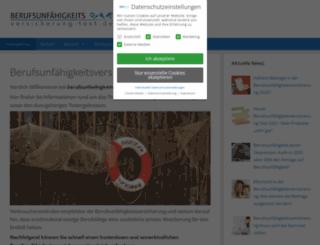 berufsunfaehigkeitsversicherung-test.de screenshot