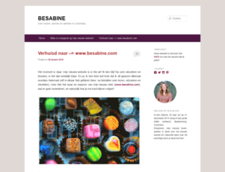 besabine.wordpress.com screenshot