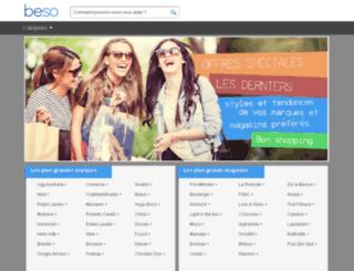 beso.fr screenshot