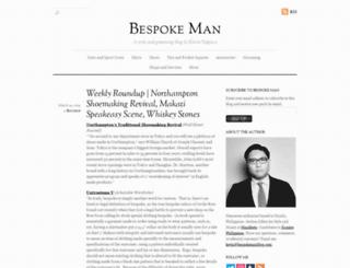 bespokemanblog.com screenshot