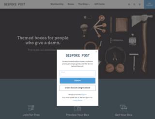bespokepost.com screenshot